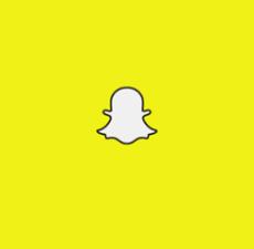 billede af snapchats logo