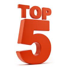 top 5 liste til marketing på SoMe