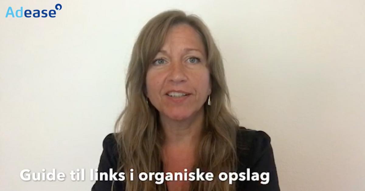Thumbnail videoguide organiske opslag Facebook