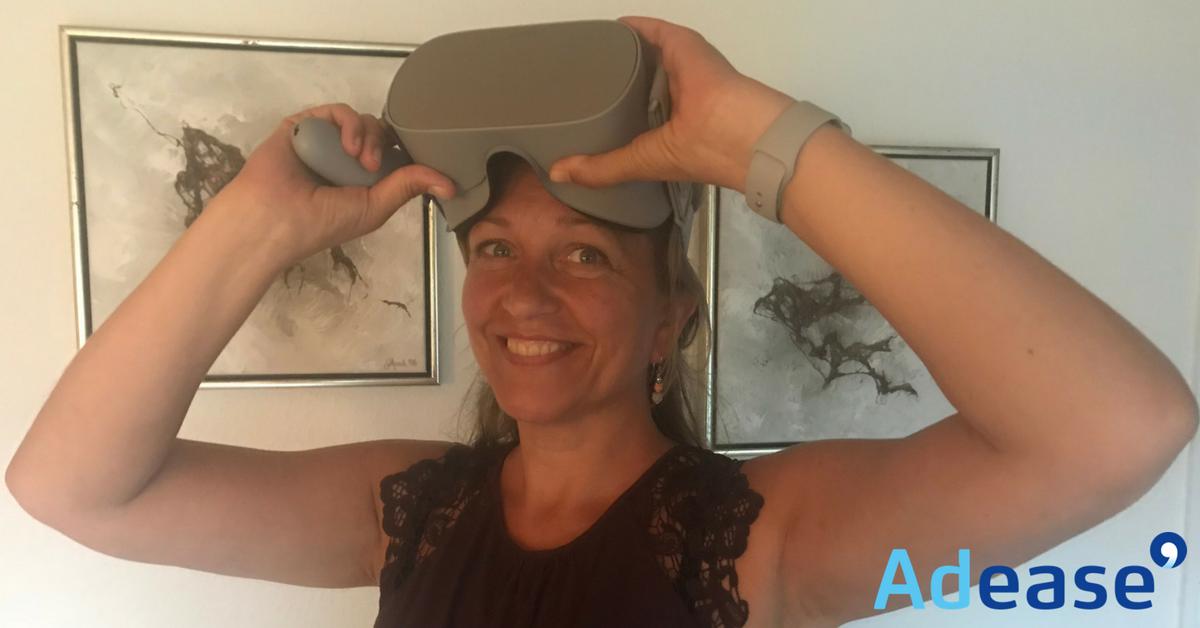 tester Oculus Go og anvendelse til markedsføring