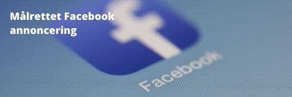 Online kursus i facebook annoncering